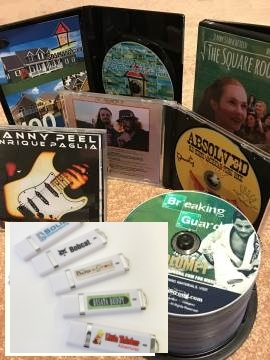 Top Quality CD/DVD/USB media and packaging.